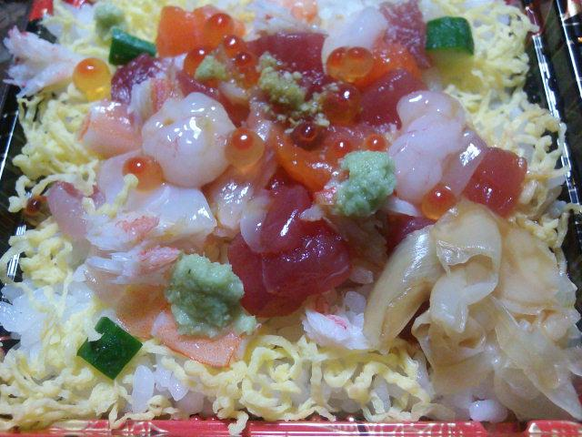 東武ストア海鮮バラちらし寿司