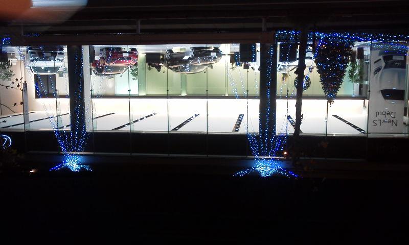 レクサス市川Xmasイルミ2012